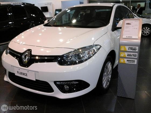 renault fluence dynamic 2.0 plus flex completo  0km 2016