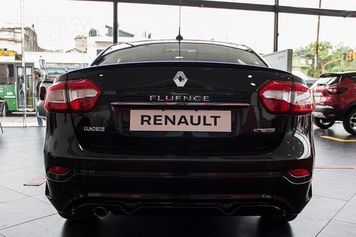 renault fluence luxe 5p 0km anticipo burdeos cuotas q