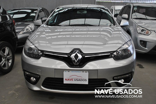 renault fluence luxe pack cuero 2015 gris phr