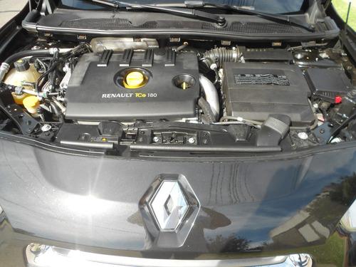 renault fluence sport 2012 negro 2.0 turbo 180cv 6mt nuevo!!