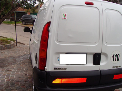 renault kangoo 1.6 2 furgon confort cd1plc 2012 a/a d/h