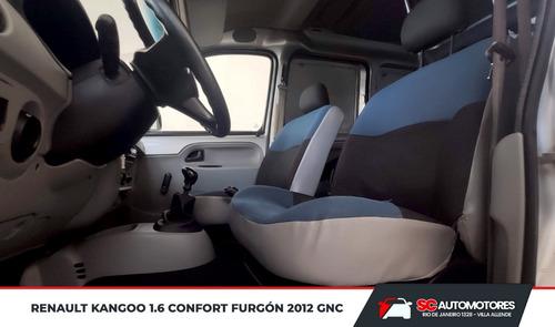 renault kangoo 1.6 furgón confort 1plc 2012 gnc