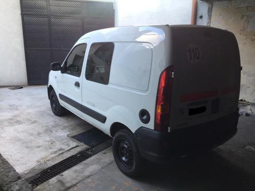 renault kangoo 1.6 furgon confort 5 asientos 2012 gnc