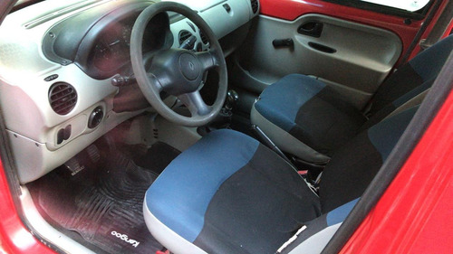 renault kangoo 1.6 vidriada con asientos    pedyautos