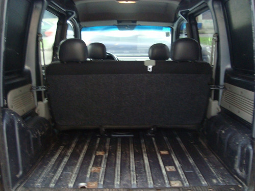 renault kangoo 2 furgón con asientos doble puerta lateral !!