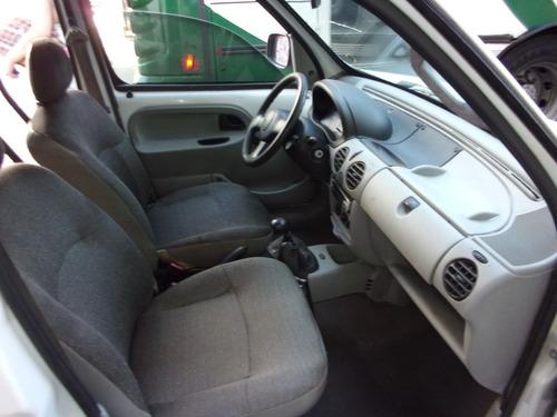 renault kangoo 2007 $ 65000 y fac  furgon diesel a/ac