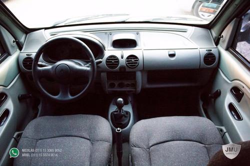 renault kangoo athentique 1 plc. 2006 verde gnc