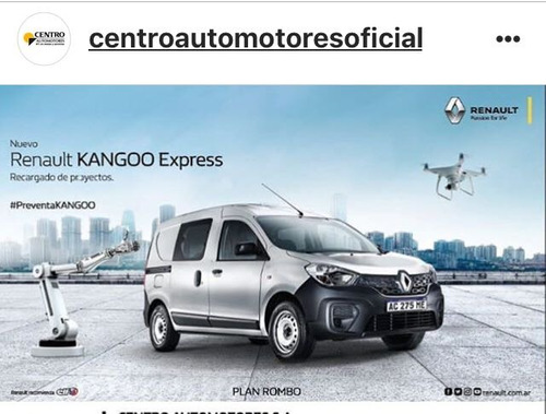 renault kangoo confort nuevo 1.5 dci 2 y 5 as. okm   fabrica