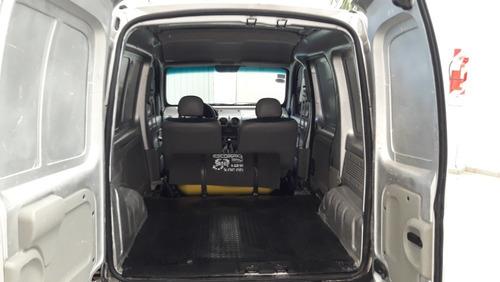 renault kangoo furgon c/gnc- portón lateral-a/ direc-2012-