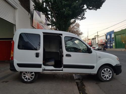 renault kangoo furgon confort con asientos 2012 gnc 5ta