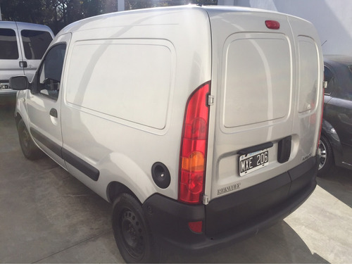 renault kangoo furgon gris nafta con gnc 2013