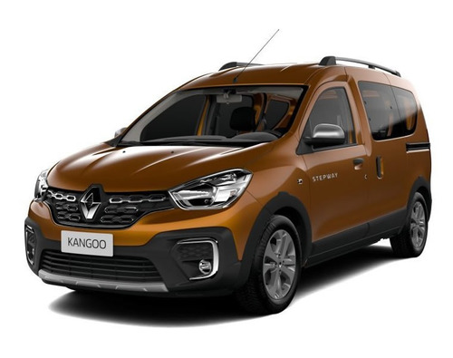 renault kangoo ii life 2018 gris contado financiado autos