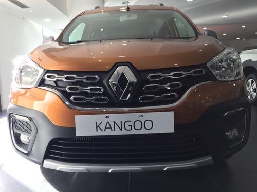 renault kangoo ii stepway 1.6 sceii nueva 0km 2020 entrega $