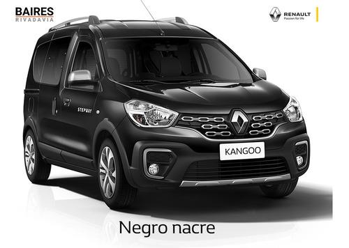 renault kangoo ii stepway diesel negro  0km 2020 contado