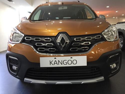 renault kangoo stepway 1.6 año 2020 full no furgon (ma)