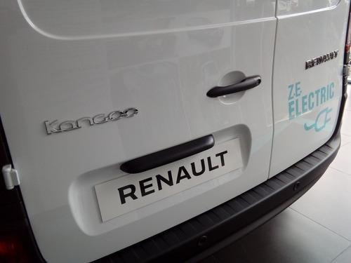 renault kangoo z.e maxi 0km 100% electrico venta especial ng
