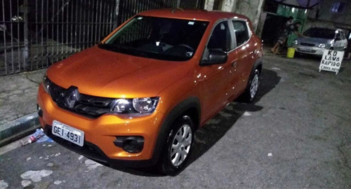 renault kwid 1.0 12v life sce 5p 2018 - aceito hornet