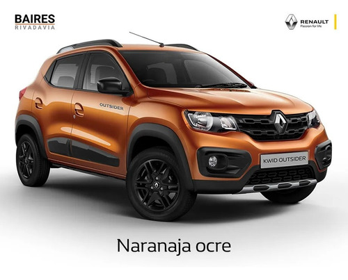 renault kwid 1.0 intense completo no full outsider ya (dc)