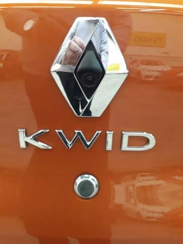 renault kwid iconic 1.0 2017 0km entrega ya (sj)