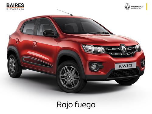 renault kwid iconic 2020 0km marfil contado financiado auto