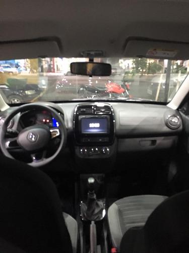 renault kwid intense con mínimo anticipo uber cabify (dv)