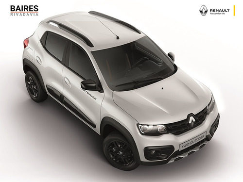 renault kwid outsider 2020 0km blanco contado financiado