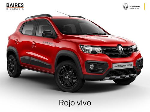renault kwid outsider 2020 0km contado financiado auto #4