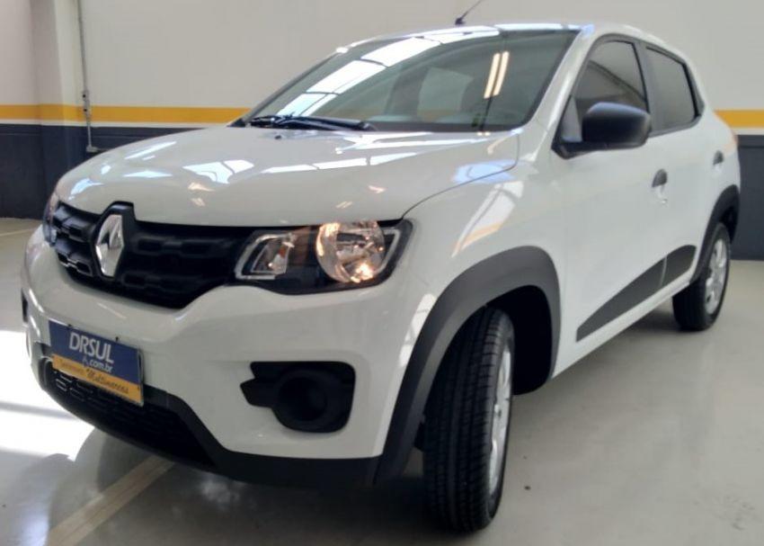Renault Kwid Zen 10 2019 Branco Flex R 40345 Em Mercado Livre