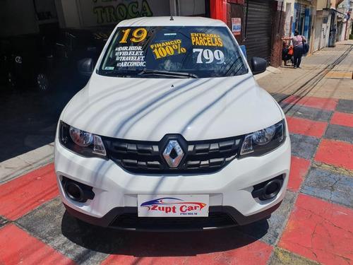 renault kwid zen carro para motorista aplicativo