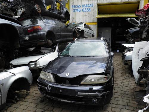 renault laguna grand tour 3.0 v6 2003 sucata p/ peças motor