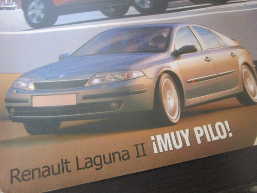 renault laguna una revista de coleccion año 2003