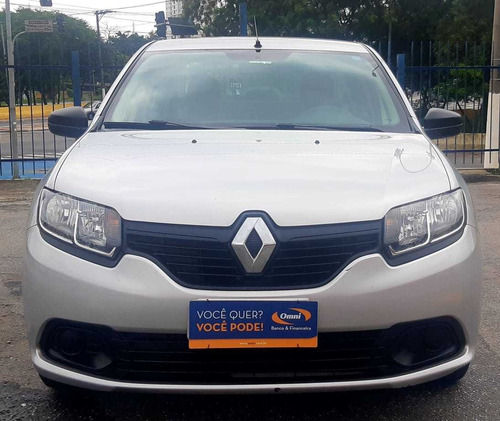 renault logan 1.0 authentique completo 2018 zero entrada