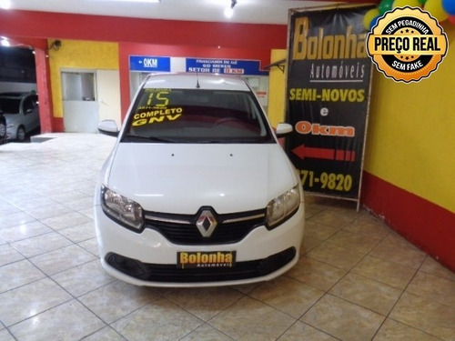 renault logan 1.0 expression 16v flex 4p manual + gnv