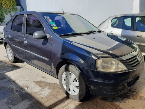 renault logan 1.6 pack ii abcp+abs c/ gnc - 2013