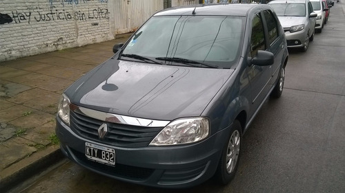 renault logan 2012 authentique pack 2 unico! $170000 titular