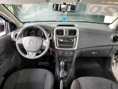 renault logan authentique 1.0 12v 2020 completo 4 portas