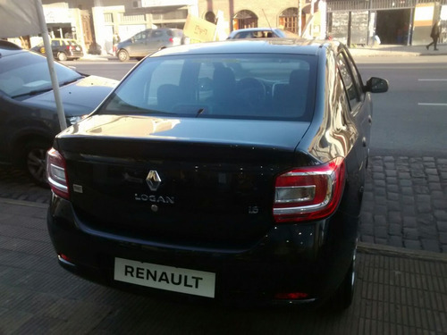 renault logan authentique 1.6 0 km 2018 negro nafta (gl)