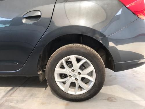 renault logan dynamique, aut, color gris, modelo 2017