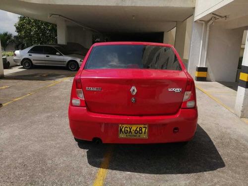 renault logan expression rojo 2010