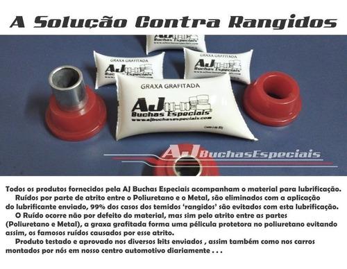renault logan - kit buchas bandeja diant. em poliuretano