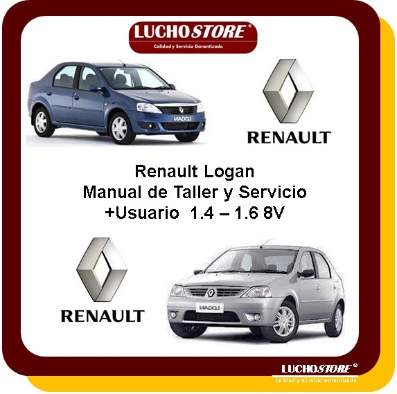 renault logan manual taller reparacion diagnostico de fallas rh articulo mercadolibre com co manual del usuario renault logan 2010 2017 Renault Logan