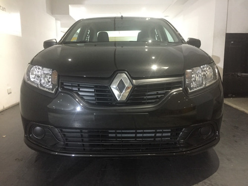 renault logan negro 1.6 authentique plus 0 km 2019 uber (mf)