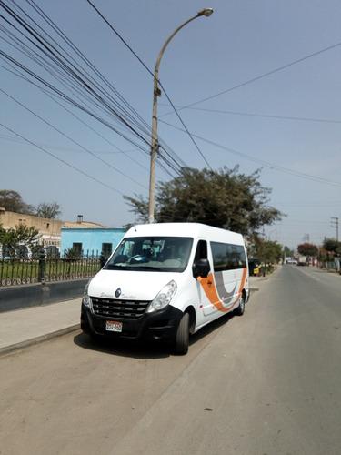 renault master 2015 minibus