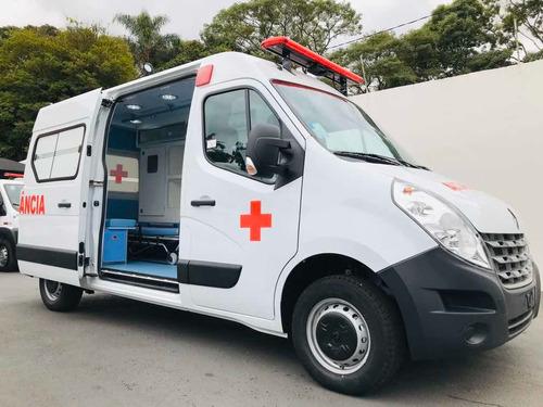 renault master 2.3 ambulancia uti grand l2h2 5p