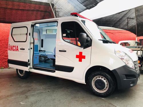 renault master 2.3 ambulância l1h1 5p