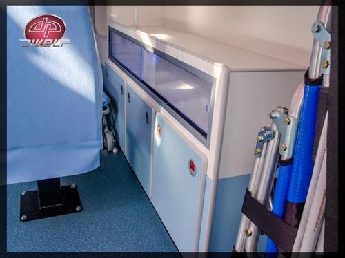 renault master 2.3 ambulância l2h2 uti móvel 0km