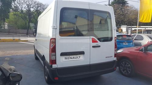 renault master 2.3 furgon corto $200.000 de descuento (te)