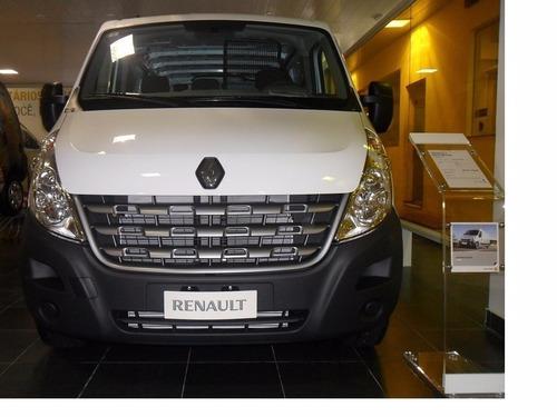 renault master 2.3 l1h1 aa 0km 2019 furgon ant+ctas fijas os