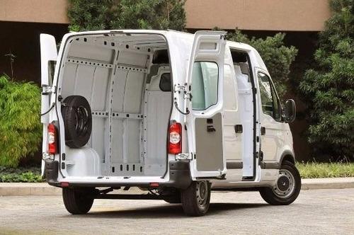 renault master 2.3 l1h1 aa 0km 2020 furgon ant+ctas fijas os
