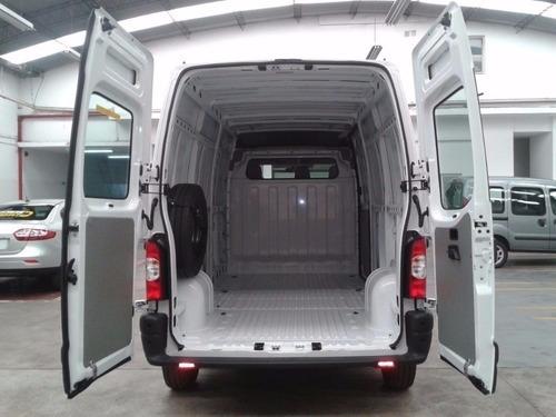 renault master 2.3 l1h1 aa furgon corto anticipo y cuota  jl